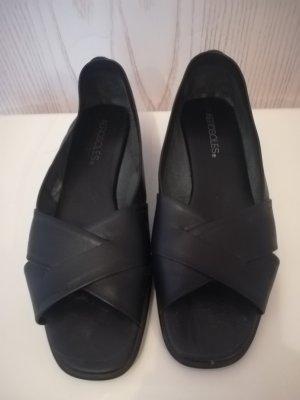 Aerosoles Sandales à talons hauts et lanière noir