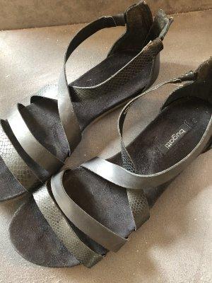 Bugatti Strapped Sandals black