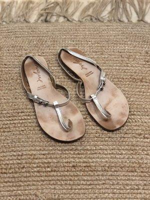 Cinque Flip flop sandalen zilver