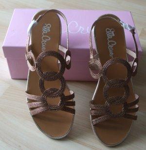 Sandalen von Ella Cruz - bronze - Gr. 39