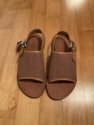 Sandalen von Esprit in Größe 38 in Braun/Kupferfarben
