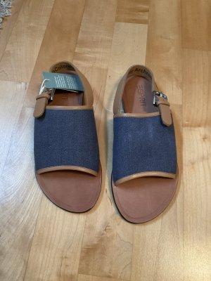 Sandalen von Esprit in Größe 40 in Braun/Blau