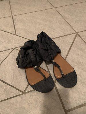 Graceland Sandalo toe-post blu