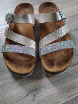Sandalen von Graceland gr.40 gold