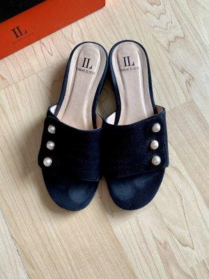 Isabel Licardi Comfort Sandals black-white