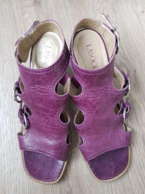 Lasocki Sandalias de tacón de tiras violeta azulado