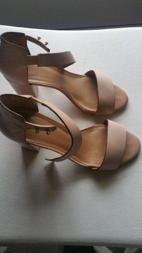 Mango High Heel Sandal pink