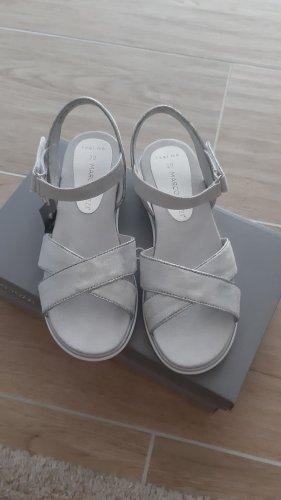Marco Tozzi Sandalo comodo bianco-argento