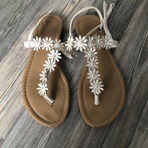 Sandalen weiß gr.36