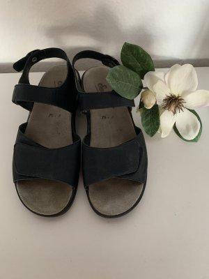 Semler Comfort Sandals dark blue