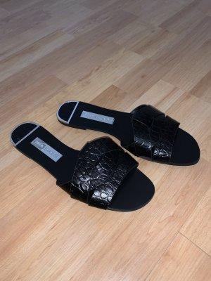 Zara Basic Strandsandalen zwart