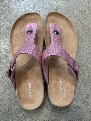 Graceland Toe-Post sandals neon pink