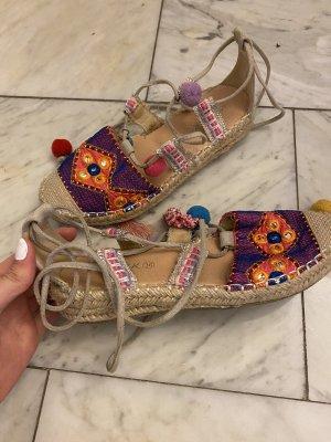 Sandalen zum Binden