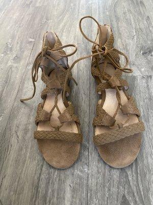 Sandalen zum Schnüren Hallhuber