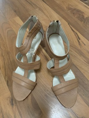 Nine west T-Strap Sandals nude