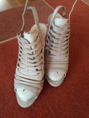 Anna Field Hoge hakken sandalen lichtbruin