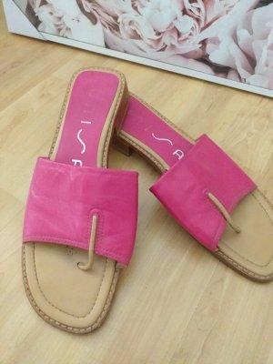 Unisa Entre-doigt rose-rose fluo cuir