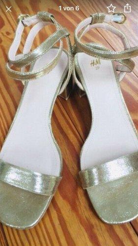 Sandalette Gold von H&M