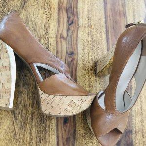 Nine west Platform Sandals brown