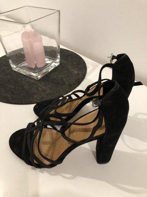 Sandalette High Heels schwarz 39 Vero Cuoio