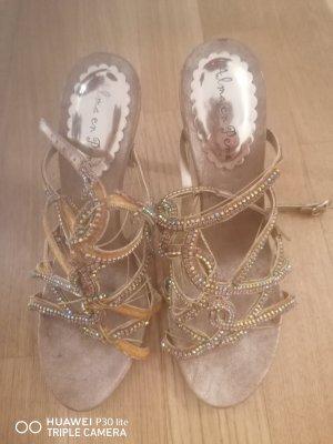Alma en Pena High Heel Sandal gold-colored