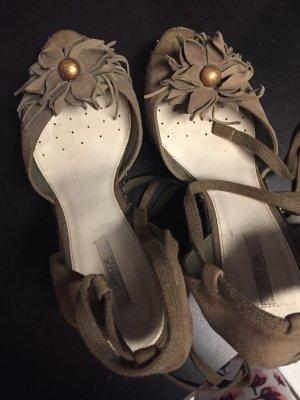Geox Platform High-Heeled Sandal ocher