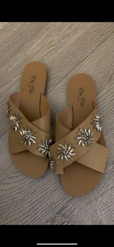 Chi Chi London Strapped Sandals beige