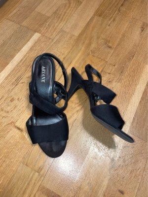Ariane Strapped High-Heeled Sandals black