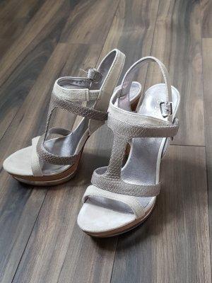Guess Sandaletto con tacco alto grigio chiaro