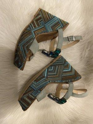 Alisha Wedge Sandals multicolored