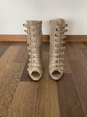 Hoge hakken sandalen veelkleurig