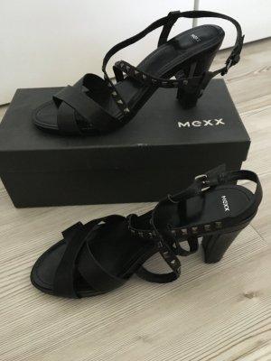 Sandaletten aus echtem Leder