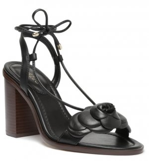 Arezzo Hoge hakken sandalen zwart Leer