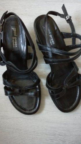 "Sandaletten aus Leder, von ""Paul Green"", in Gr. 37,5"