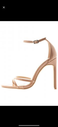 Glamorous Sandalias de tacón alto nude-beige