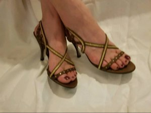 sandaletten bronze