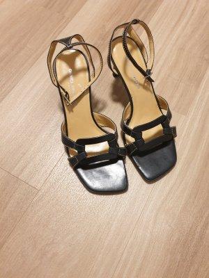 Daniel Hechter Strapped High-Heeled Sandals black