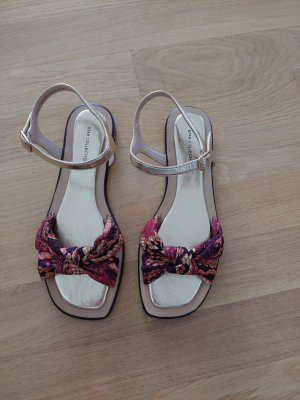 Deichmann Strapped High-Heeled Sandals multicolored