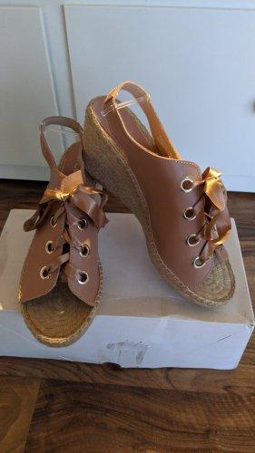 Heine Platform High-Heeled Sandal rose-gold-coloured