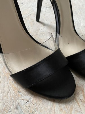 Catwalk Sandalias de tacón alto negro