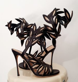 Sandaletten High Heels von Sergio Rossi gr. 38,5