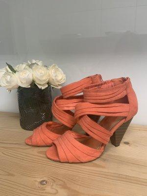 Sandaletten in coral