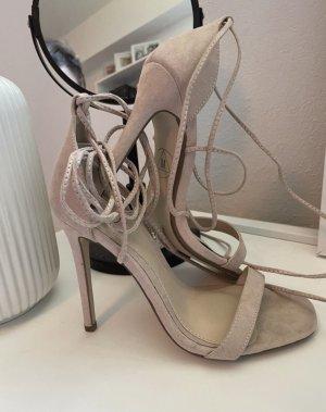 Sandaletten in Hellrosa