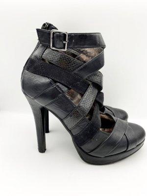 Sandaletten in Schwarz Gr 40