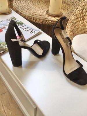 Sandaletten Justfab Blockabsatz Neu!