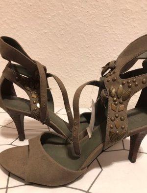 Esprit High Heel Sandal olive green-green grey