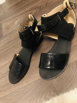 H&M Comfort Sandals black