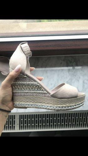 Platform High-Heeled Sandal dusky pink-pink