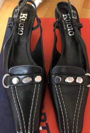 T-Strap Sandals black