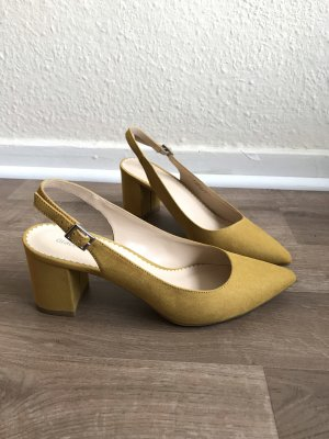 Graceland Slingback Pumps gold orange-yellow